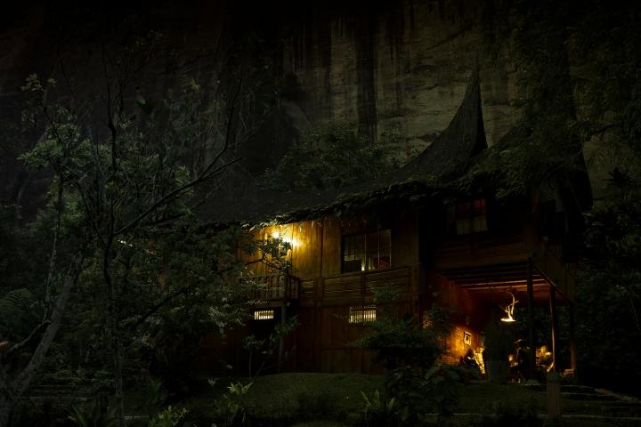rumah tradisional padang